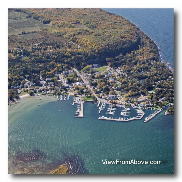 Door county wisconsin aerial photography for Fish creek door county