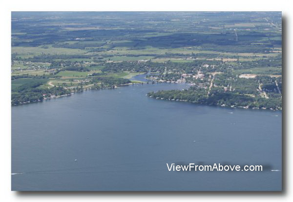 Aerial Photos Green Lake, Wisconsin