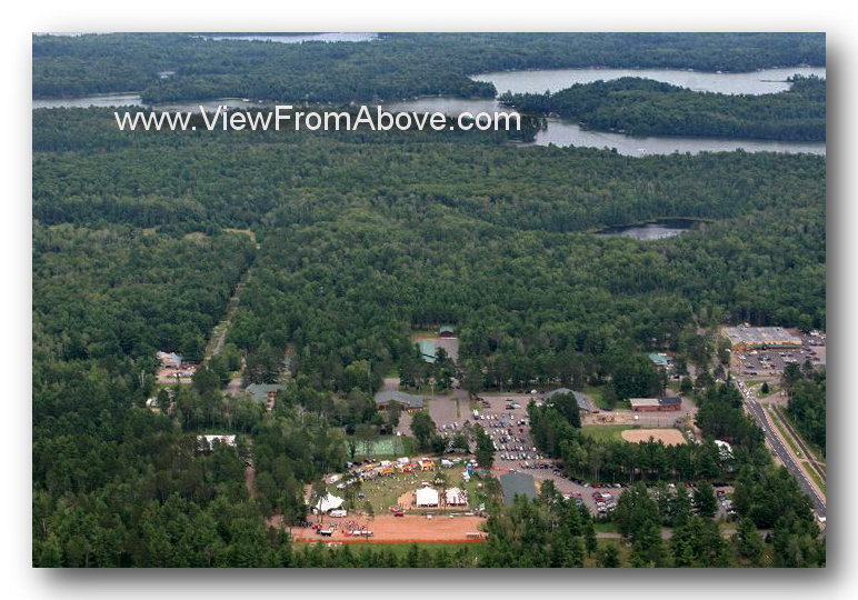 St Germain Wisconsin Aerial Photography