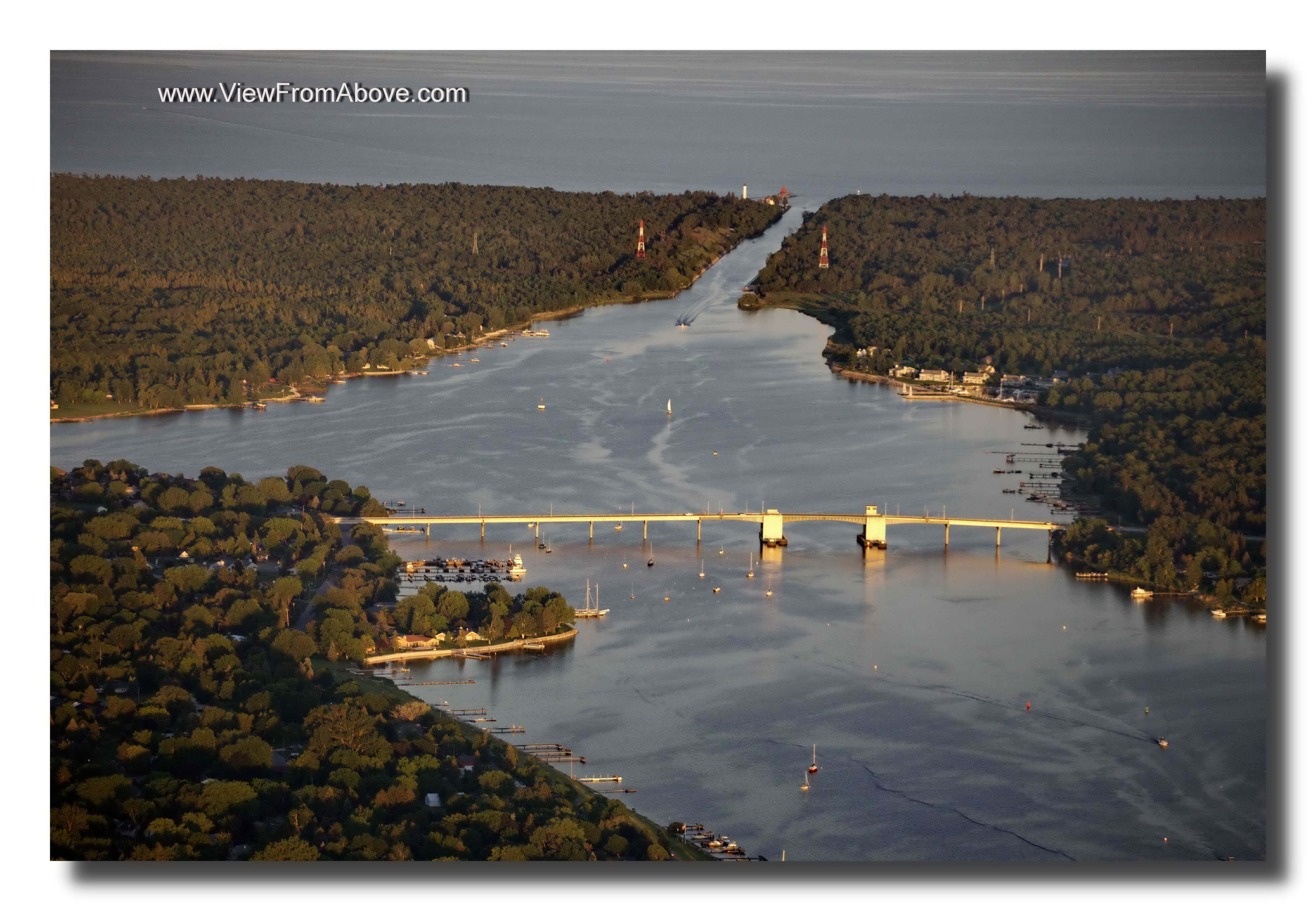 Sturgeon Bay, Wisconsin Aerial Photography